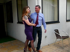 Cute Lucia Love gets her tight cunt pounded by a neighbor