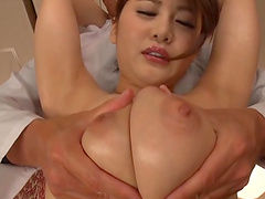 Desirable hottie Oshikawa Yuri lets a kinky guy screw her roughly